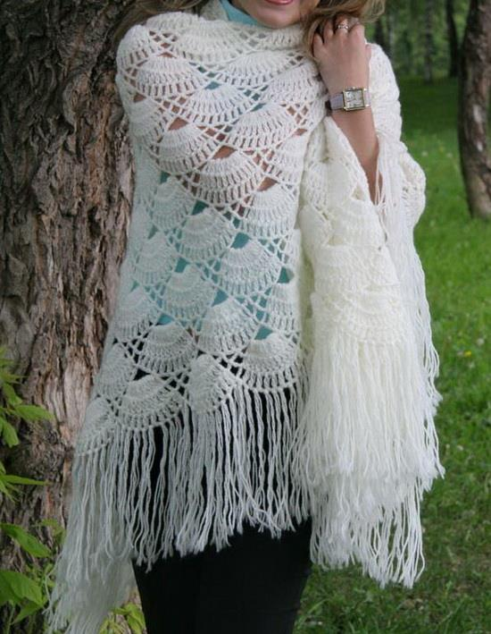 Crochet Shawls Crochet Shawl Free Pattern Tutorial