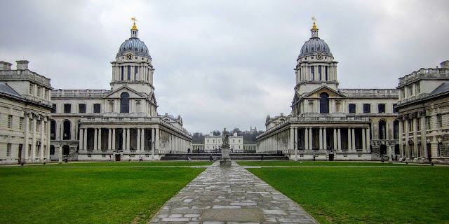 Deserted Old Royal Naval College
