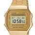 Relógio Casio Original Vintage A168WG - 9EF - Ouro