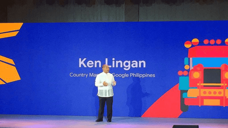 Ken Lingan, the Country Manager of Google Philippines