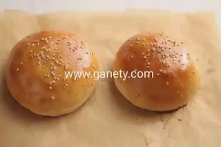 طريقة عمل خبز البرجر ب ٧ مكونات