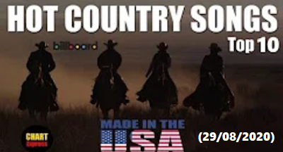 🐮 Billboard Top 10 Hot Country Songs (USA)   August 29, 2020