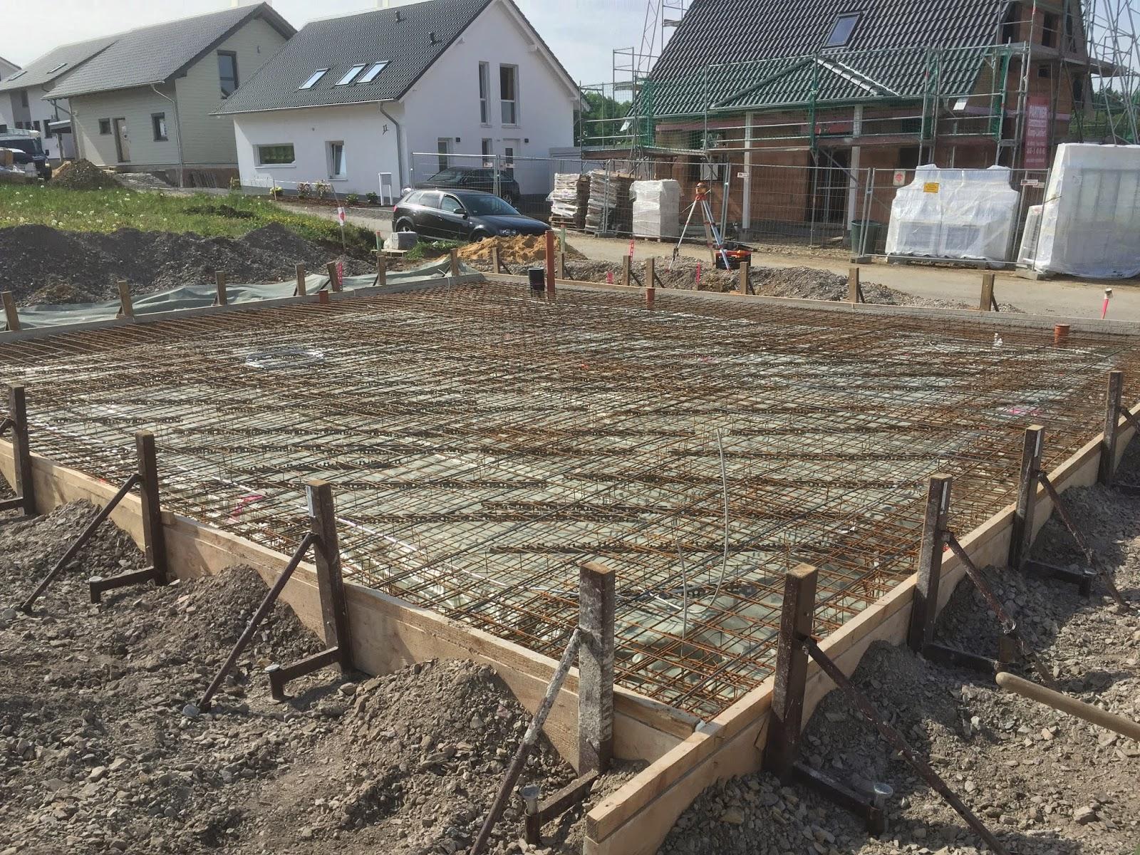 Wir Bauen Ein Haus Bodenplatte Tag 2
