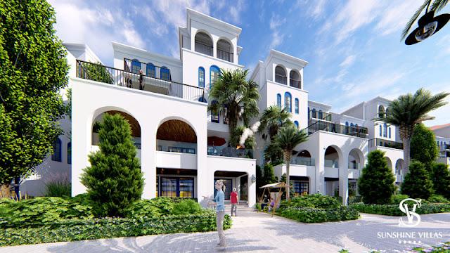 Phối cảnh biệt thự Sunshine Wonder Villas