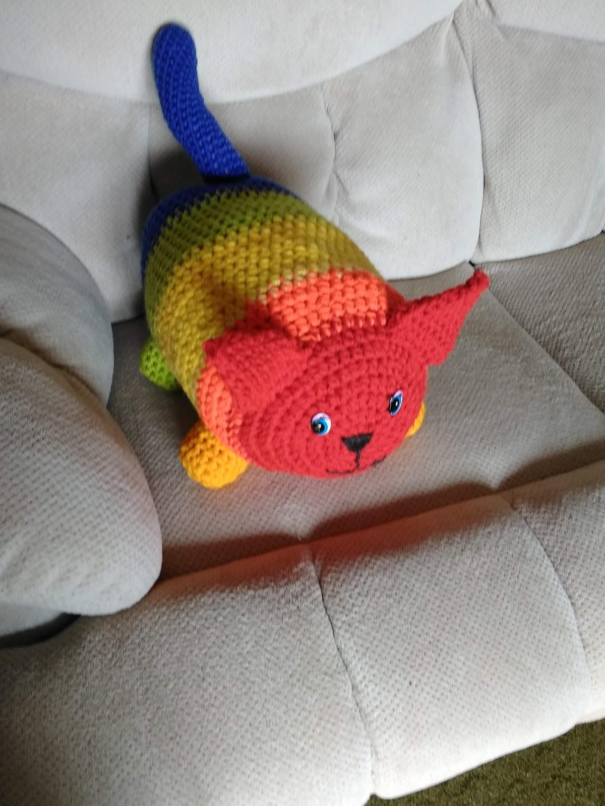 Crochet Pattern: Mr. Putty Cat, Sr. | Underground Crafter | 1600x1200