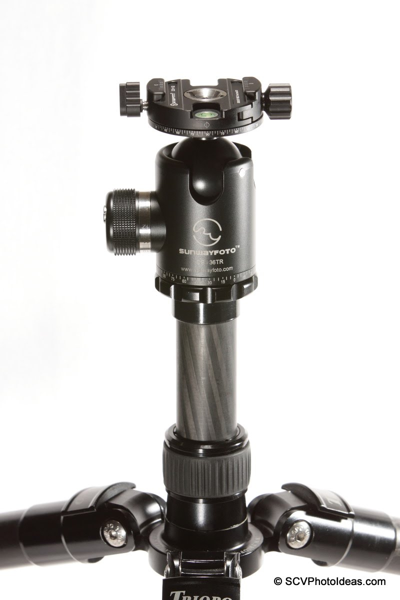 Sunwayfoto DDH-02 on Sunwayfoto DB-36TR ball head