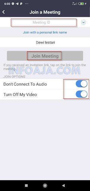 Meeting online menggunakan Zoom