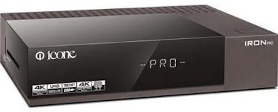 مميزات ومواصفات رسيفر ايكون ايرون برو Icone Iron Pro