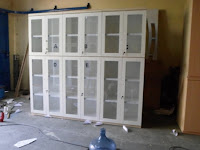 rak file kantor kayu