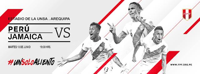 Perú vs Jamaica, Amistoso Arequipa