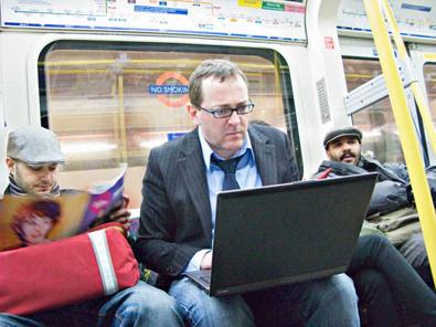 Internet wifi en el metro de Londres