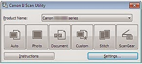 canon ij scan utility mp230