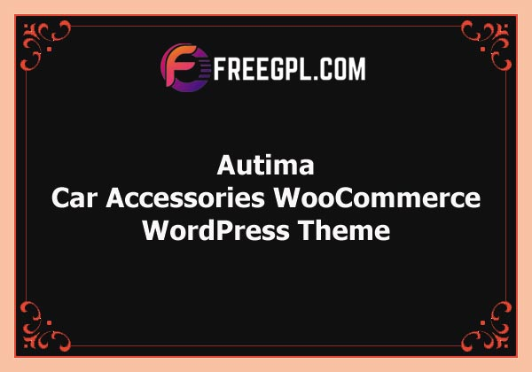 Autima – Car Accessories Theme for WooCommerce WordPress Free Download
