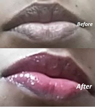 Kiko Milano Volumizing Lip Gloss - Before After Swatches Cherry Red