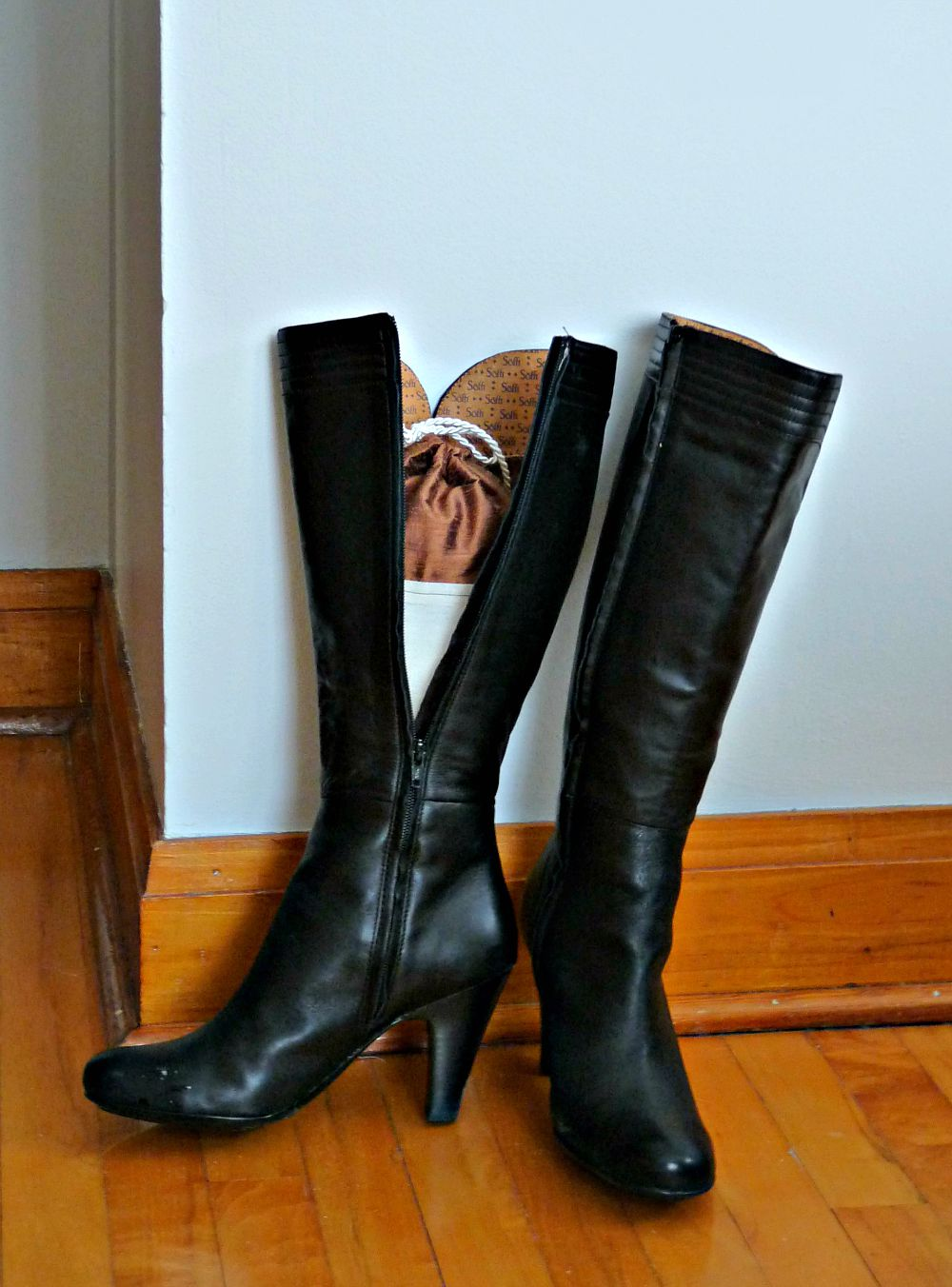 DIY boot stuffer