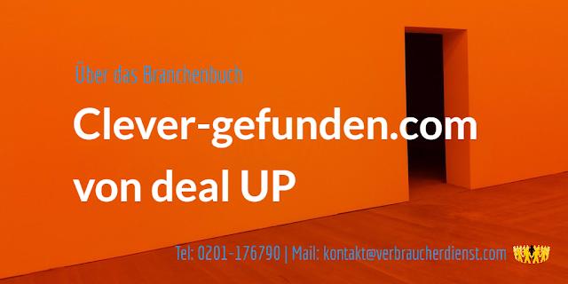"""titelbild: Über das Branchenverzeichnis """"Clever-Gefunden.com"""" der deal UP, Bissendorf"""