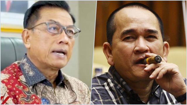 Syahrial Nasution: Ruhut Mau Kudeta Moeldoko? Ternyata Kesempatan Ngabalin pun Mau Diambil