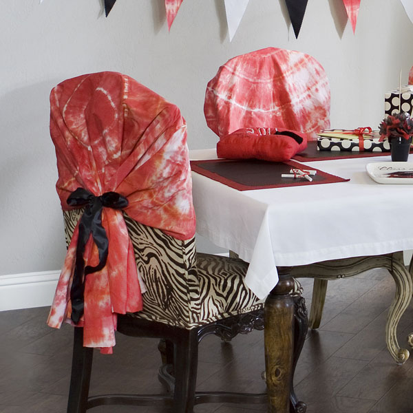 Pleasing Get Wacky And Crafty With Pattiewack Tie Dye Chair Covers Creativecarmelina Interior Chair Design Creativecarmelinacom