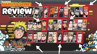 Download Naruto Senki Mod Apk Full Karakter, No Cooldown Dan Darah Tebal