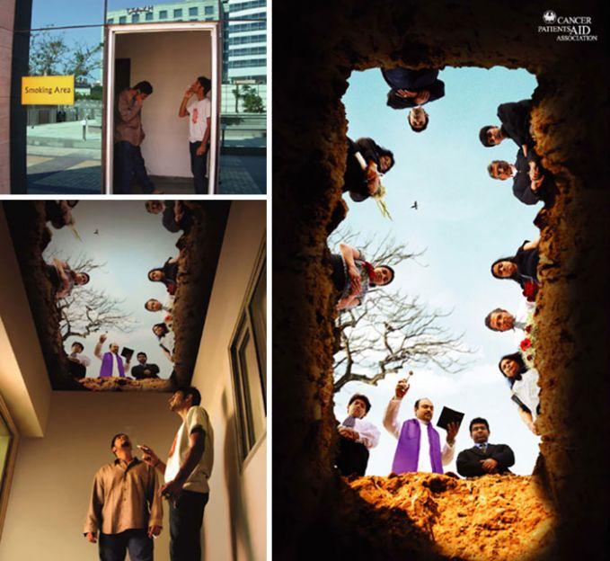 Woww Inilah Foto Foto Peringatan Bahaya Rokok Paling Unik
