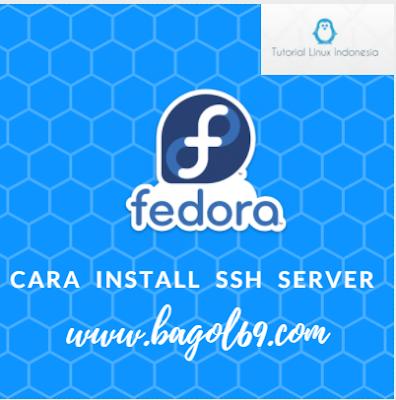 Cara Install  SSH  Server  Fedora  27