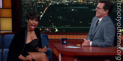 Jennifer Hudson Takes Stephen Colbert To Church