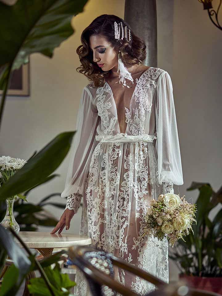 peinado para novia con hebillas 2020
