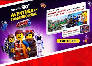 Promoção Sky Legoland