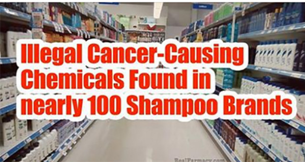 Alarming Illegal Cancer-Causing Chemicals Found In Nearly 100 Shampoo Brands