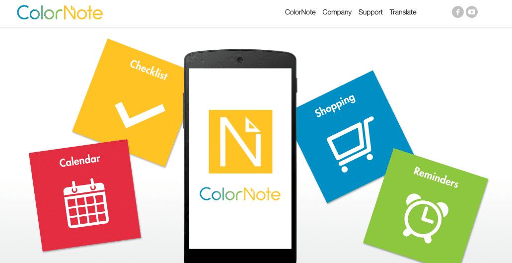 تحميل برنامج Color Note