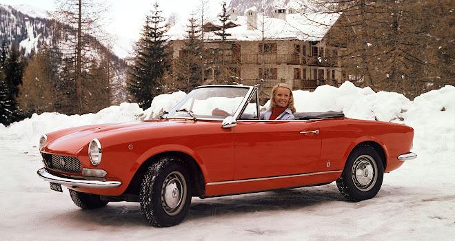 Fiat 124 Spider 1960s variety