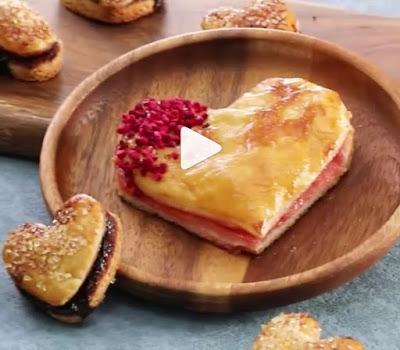 resep cemilan simpel roti cantik
