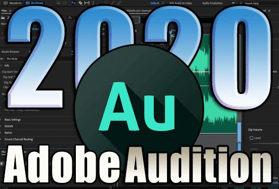 تحميل برنامج Adobe Audition 2020 v13.0.10.32 اخر اصدار مفعل مدى الحياة