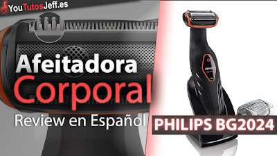 PHILIPS, PHILIPS BG2024, PHILIPS BG2024 Review, afeitadora corporal