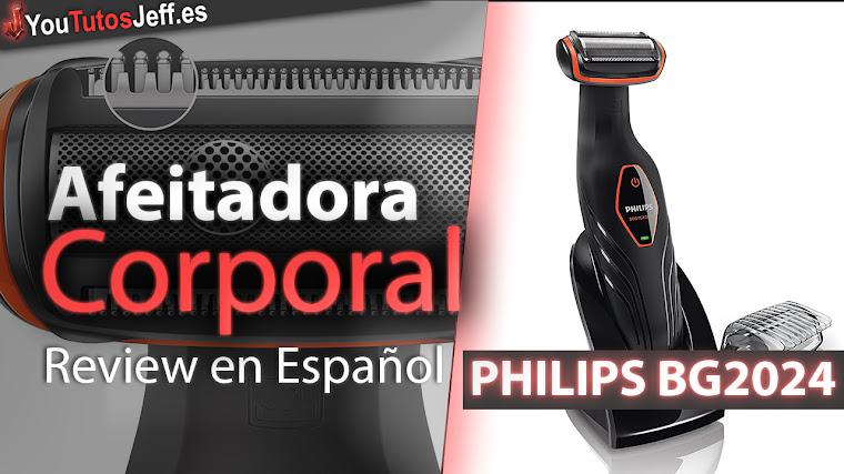 Afeitadora corporal PHILIPS BG2024 Review en Español