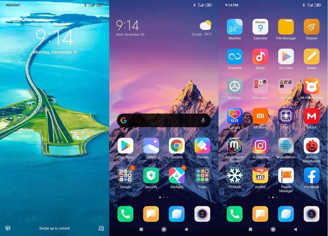 Software & Fitur Xiaomi Redmi Note 8