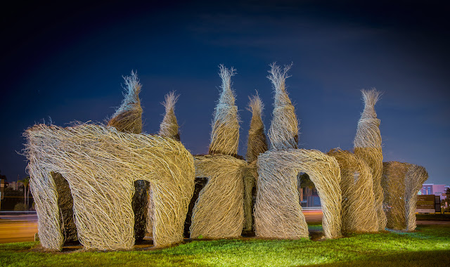 Green Pear Diaries, arte, escultura, Patrick Dougherty