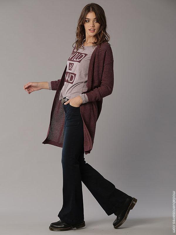 Moda otoño invierno 2018 jeans de mujer. Ropa de mujer otoño invierno 2018.