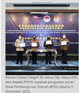 Kemendagri, OJK, KPK, dan PPATK Sepakati Penguatan Peran Bank Pembangunan Daerah