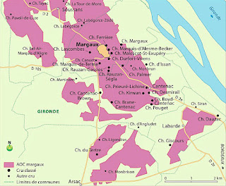 Margaux is a wine-growing commune and Appellation d'origine contrôlée within Haut-Médoc in Bordeaux, centred on the village of Margaux.