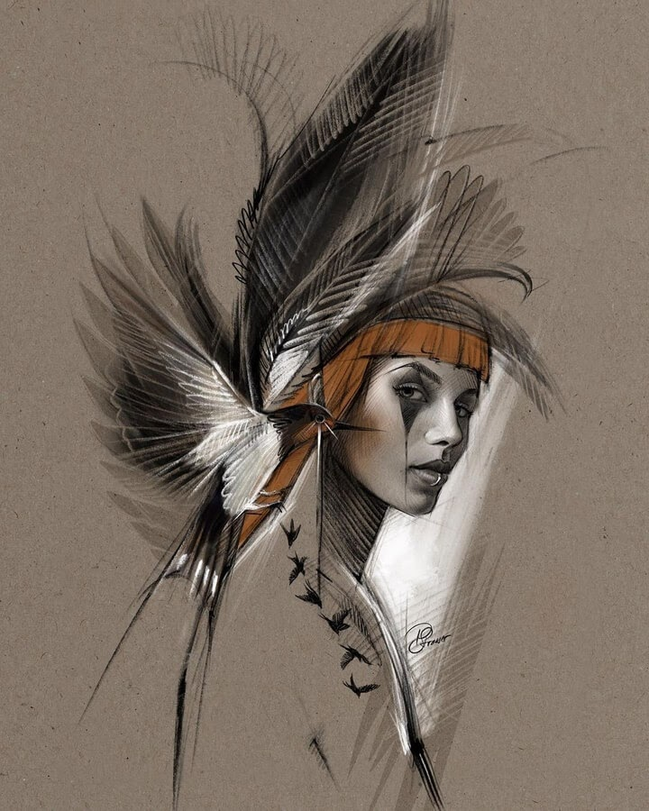 01-Digital-Art-Portraits-Petra-Strasser-www-designstack-co