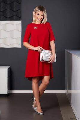 Vestidos de Coctel Rojos