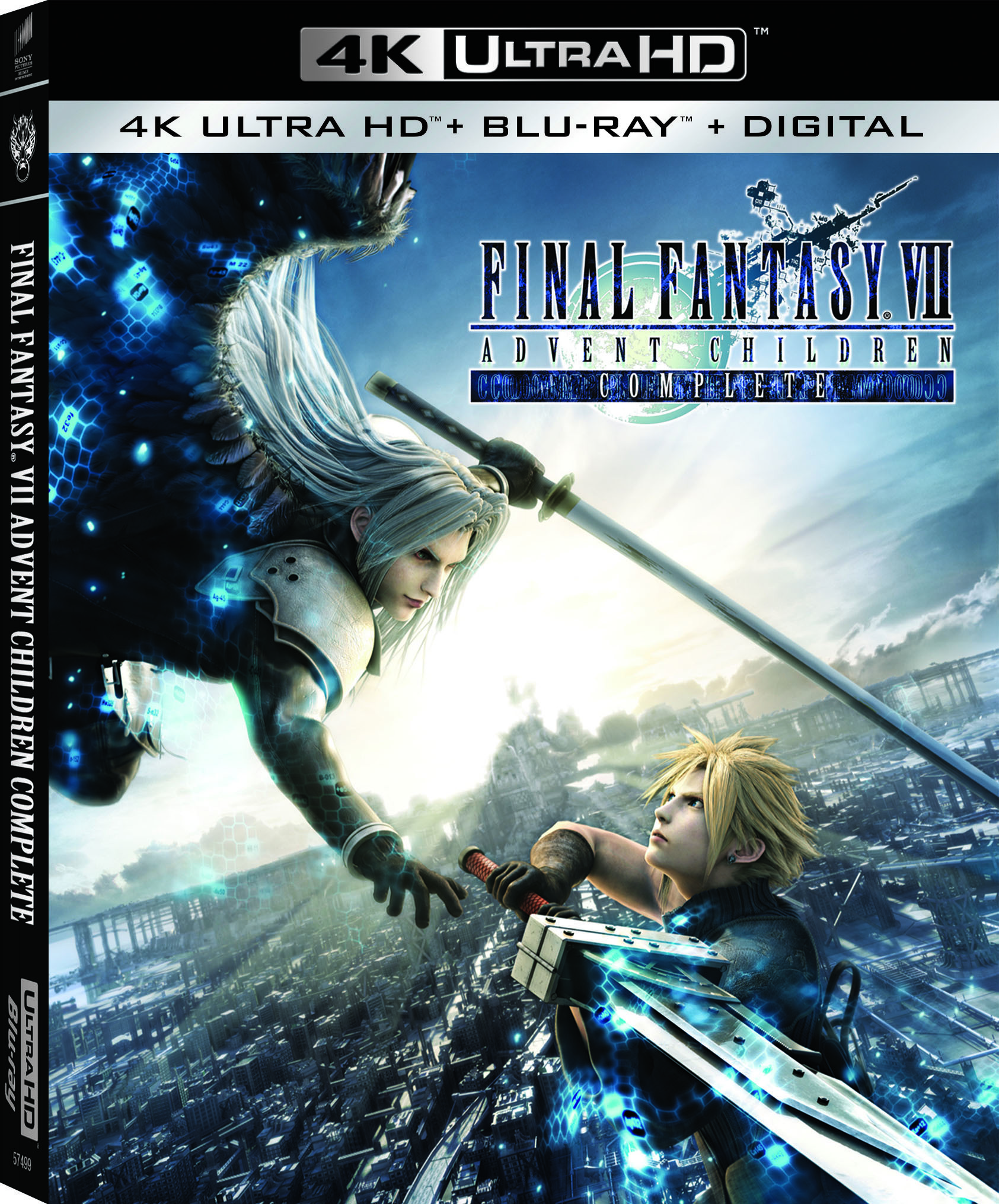 Final Fantasy VII: Advent Children Complete Remastered on 4K - Available June 8 (Sony Pictures) Slipcover Case