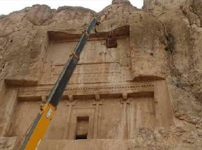 Νέα τρίγλωσση επιγραφή ανακαλύφθηκε κοντά στον τάφο του βασιλιά Δαρείου