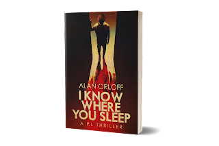 The Meandering Path from Numbers to Words, Guest post by Alan Orloff, author of I Know Where You Sleep