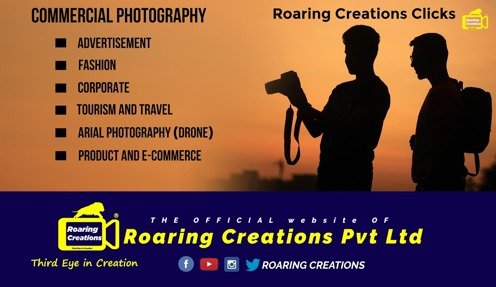 Commercial Photography @ Roaring Creations