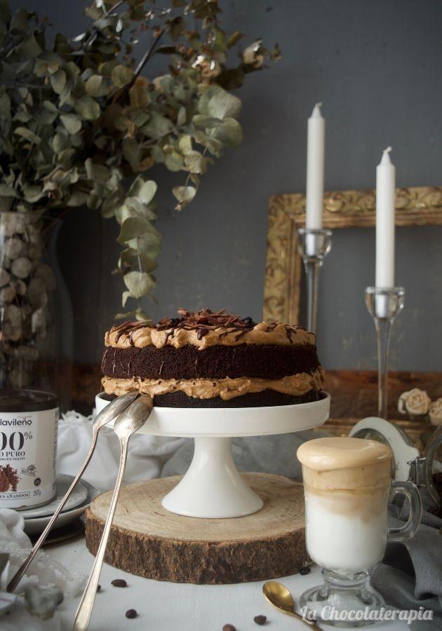 como-preparar-una-fantástica-tarta-de-chocolate-y-cafe-dalgona