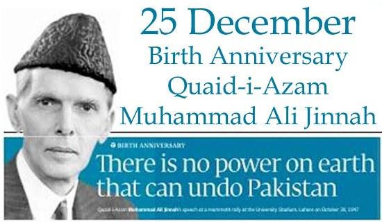 25 December Birth Anniversary Quaid e Azam Muhammad Ali Jinnah