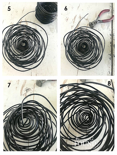 up-cycling,tutorial,trash to treasure,spring,salvaged,rustic,original designs,nests,neutrals,DIY,diy decorating,crafting,boho,art class,garden art,NeSts,wire,crafting with wire,wire sculpture,spring home decor,diy spring home decor,birdnests,