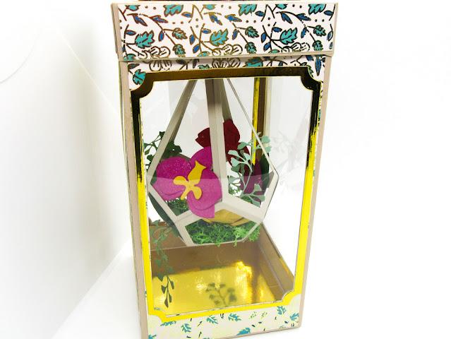 Sizzix terrarium gift box